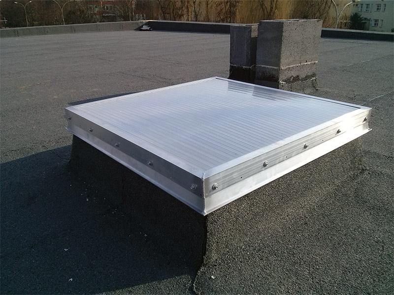 Świetlik dachowy nieotwieralny